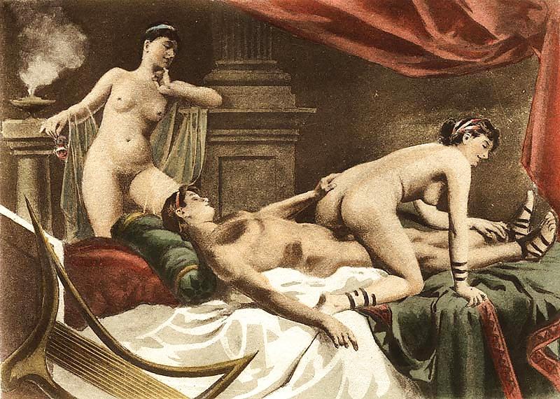 порно искусство из древности фото
